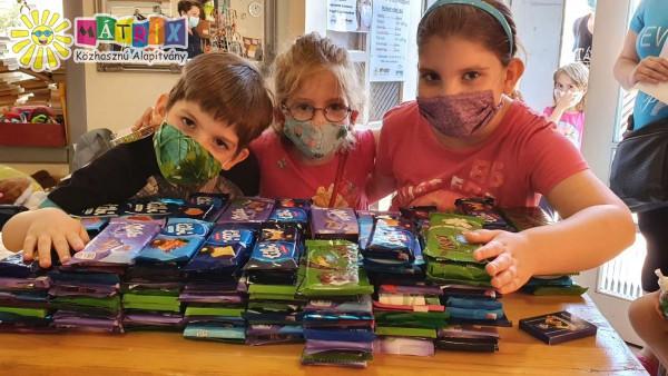 gyermekmentő támogatás jótékonyság adományok szeretetcsokival